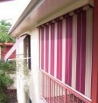 Channel Guide Awning With Acrylic Skin