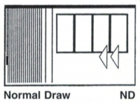 Vertical Drape Normal Draw