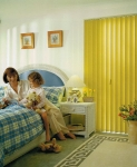 Unline - Vertical Drape Yellow Bedroom